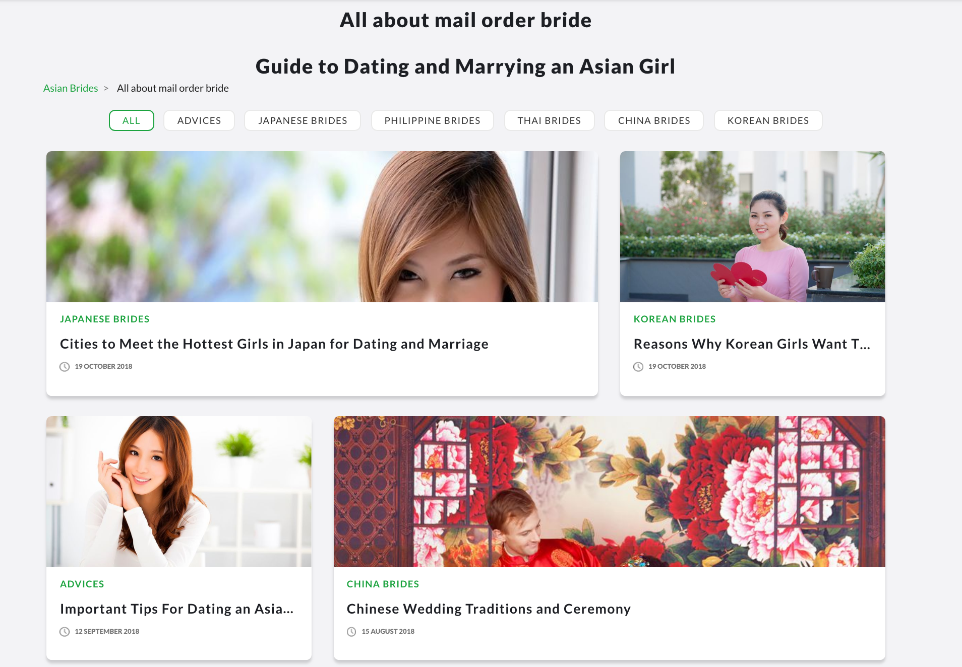 all about asian mail order brides